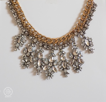 16kt Beauty Ice Queen Statement Necklace