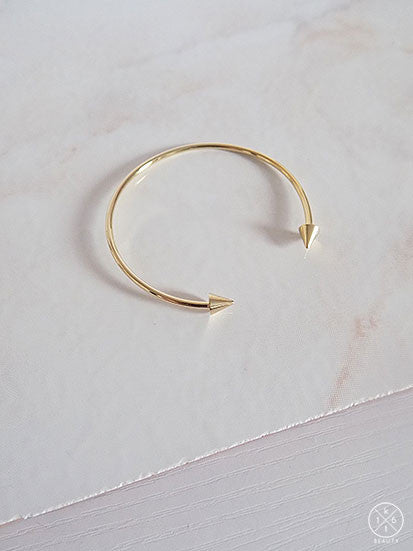 16kt Beauty Twin Arrow Bracelet