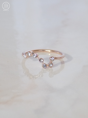 Big Dipper Crystal Ring