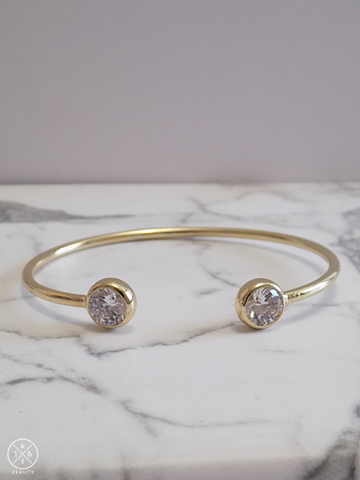 Diana Crystal Bangle