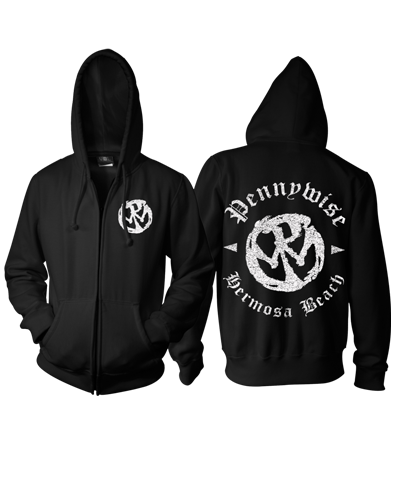 Old English Zip Hoodie
