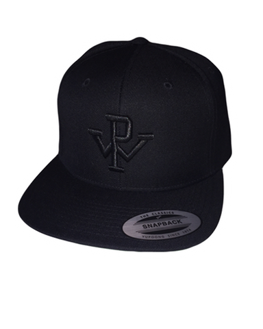 PW Baseball Hat - Black/Black
