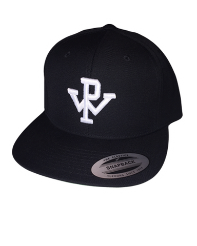PW Baseball Hat - Black/White