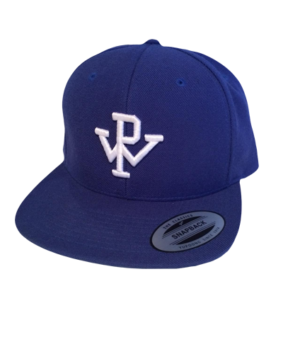 PW Baseball Hat - Blue White – Pennywise c7be589ae62
