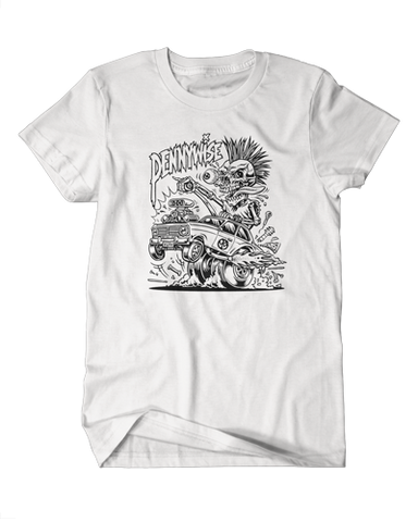 Hot-Rod Tee (White)