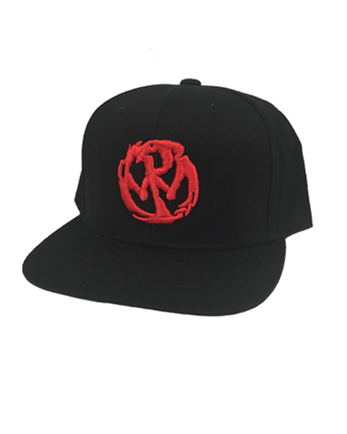 PW Circle Logo Snapback - Red