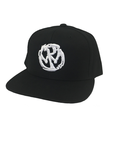 PW Circle Logo Snapback - White
