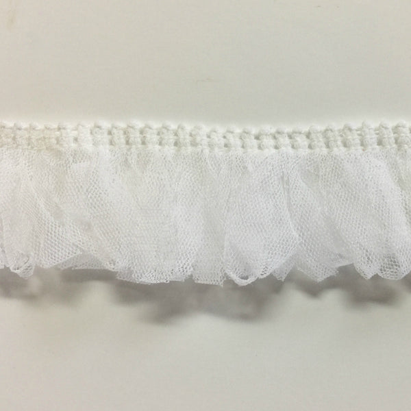 Looped Tulle Netting Stretch Doll Trim