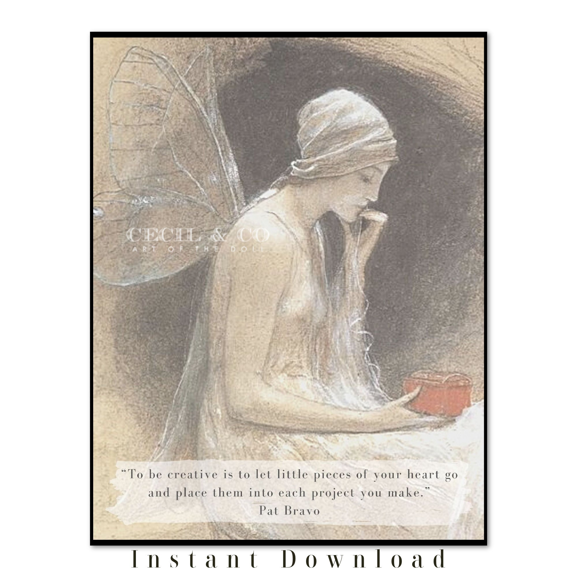 Creative Fairy Art Quote