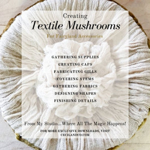 Textile Mushrooms PDF Tutorial