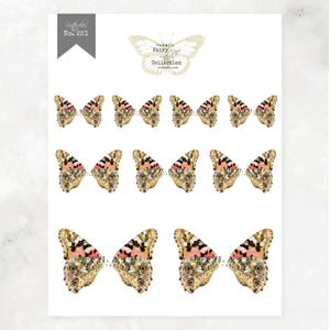 Digital Butterfly Fairy Wings Collection No. 221