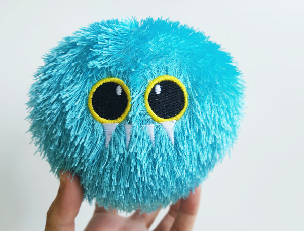 Fuzzy Furball Stress Toy