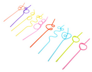 Crazy Bendy Straws (Pack of 4)