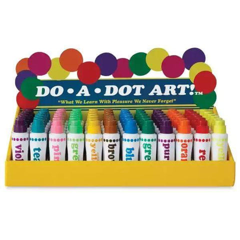 Do-A-Dot Art Painters' Pack (Set of 6 Markers with Book)