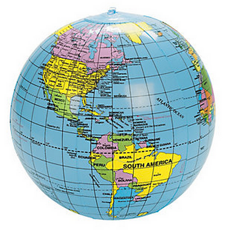 Inflatable Travel Globe