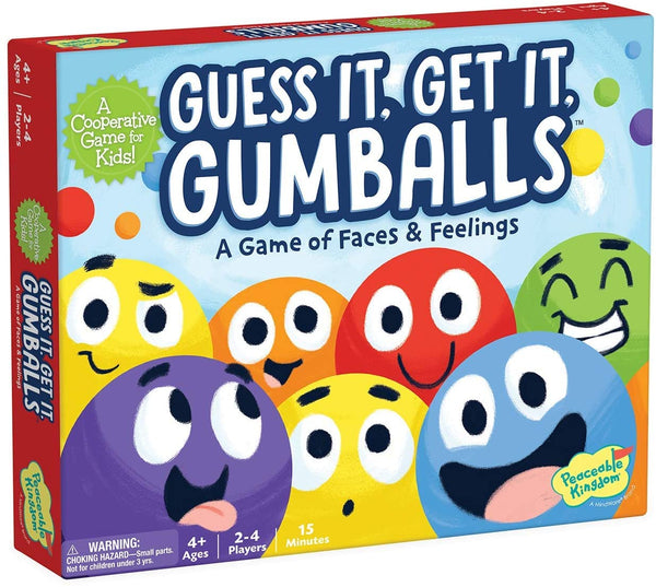Guess It Get It Gumballs: A Game of Faces & Feelings