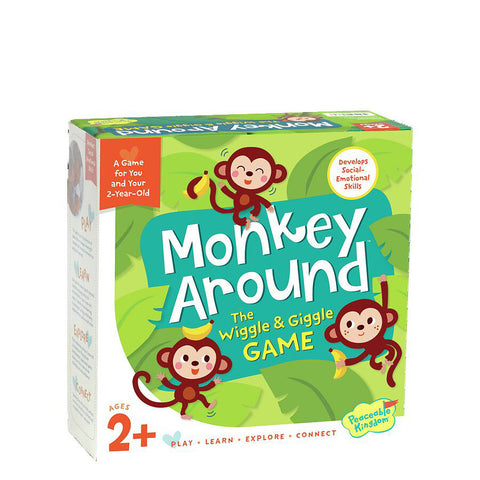 Monkey Around: The Wiggle & Giggle Game