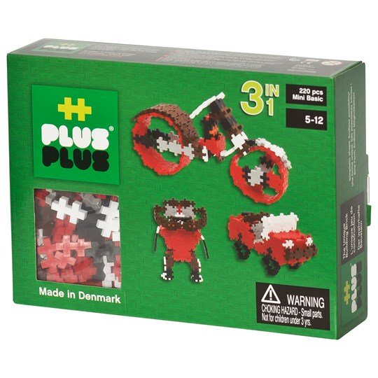 Plus Plus Mini Basic 220pcs 3-in-1