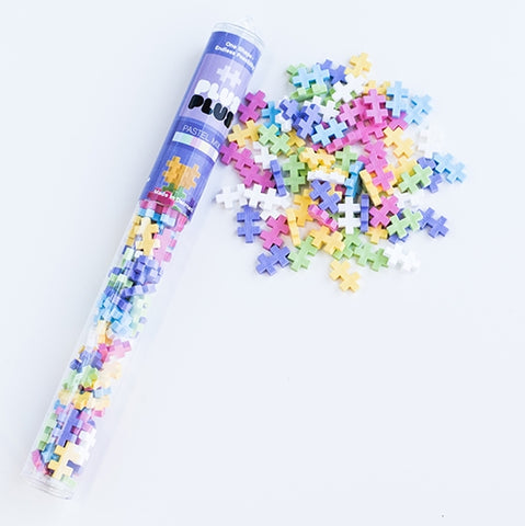Plus Plus Display Tube Mini Pastel Mix (100 pcs)