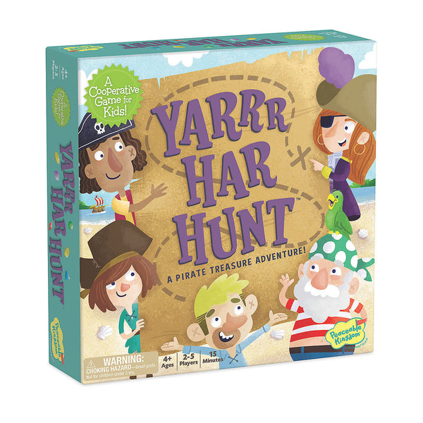 Yarrr-Har-Hunt: A Pirate Treasure Adventure Cooperative Game