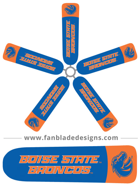 Fan Blade Designs fan blade covers - Boise State Broncos 2
