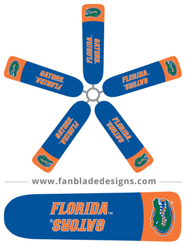 Fan Blade Designs fan blade covers - University of Florida Gators