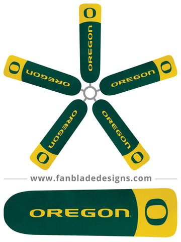 Fan Blade Designs - University of Oregon - Duck