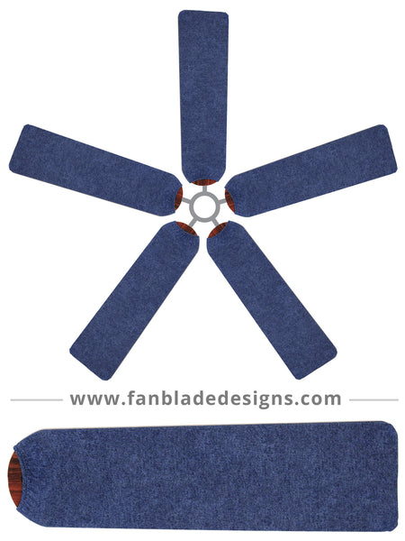 Fan Blade Designs fan blade covers - Denim