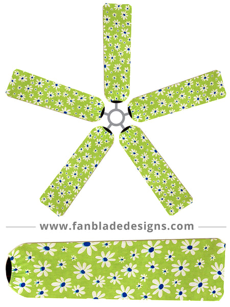 Fan Blade Designs fan blade covers - Daisy