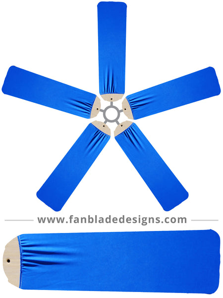 Fan Blade Designs Royal Blue