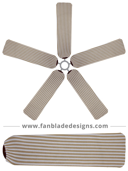 Fan Blade Designs fan blade covers - Stripes