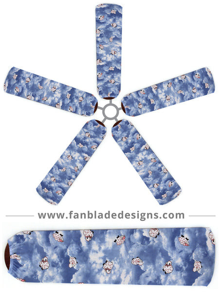 Fan Blade Designs fan blade covers - Oh Baby