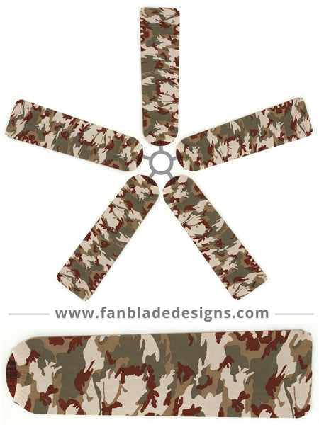 Fan Blade Designs fan blade covers - Camo