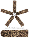 Fan Blade Designs fan blade covers - Digital Camo