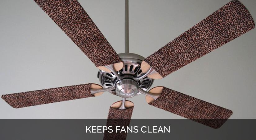 Ceiling Fan Blade Cover Designs Baby Leopard