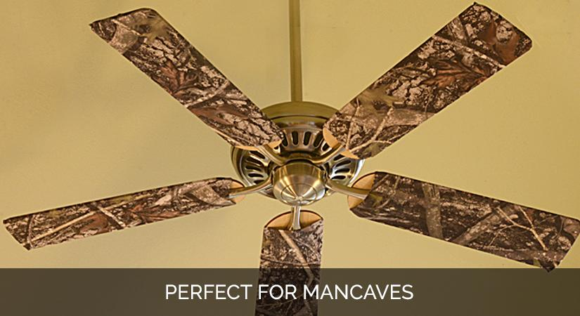Ceiling Fan Blade Cover Designs True Timber Camo