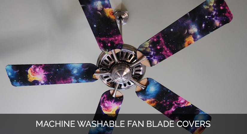 Ceiling Fan Blade Cover Designs Space Odyssey