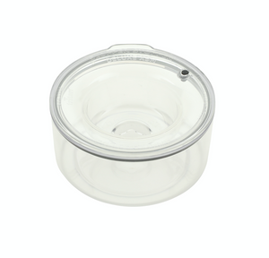 PLASTIC UNIT : XSM SMALL BREEDS Bowl/Lid (Weight 0 - 20 Lbs) : Holds 1.25 Quarts