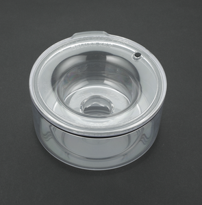 PLASTIC UNIT : XSM SMALL BREEDS Bowl/Lid (Weight 0 - 20 Lbs) : Holds 1.25 Quarts (Includes Everything You Need)