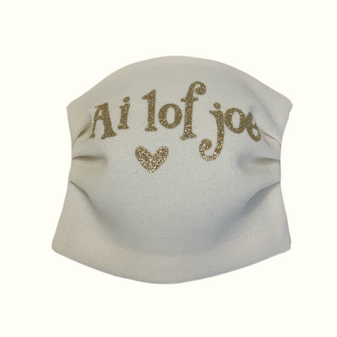 "Face mask ""ai lof joe"""