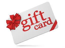 Gift Card's are back!