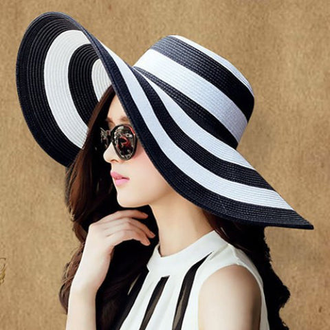 618a4277eec Chic Weaving Bowknot Embellished Sun Hat For Women – ZeNa s Haute ...