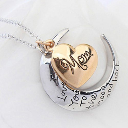 Sweet English Letter Heart Pendant Necklace For Women