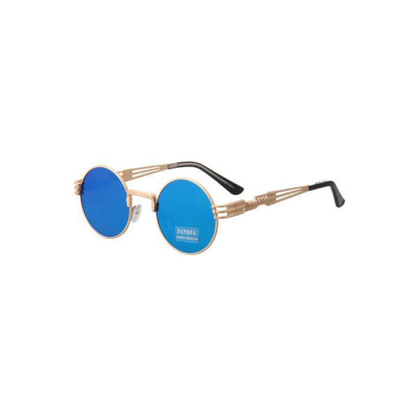 Chic Alloy Round Frame Sunglasses For Women