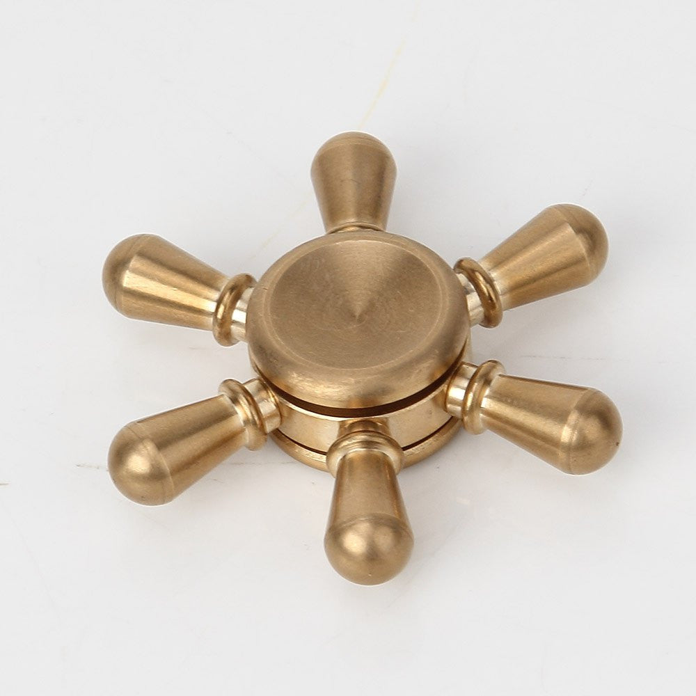 Stress Relief Fingertip Toy Rudder Finger Spinner
