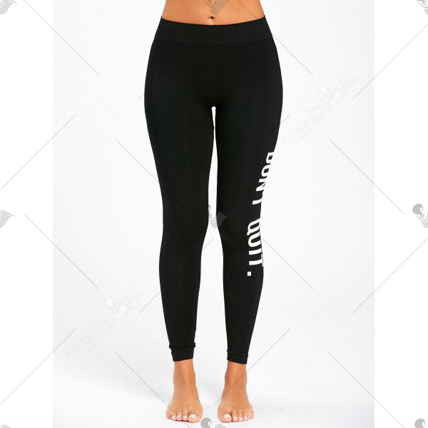 Dont Quit Workout Leggings