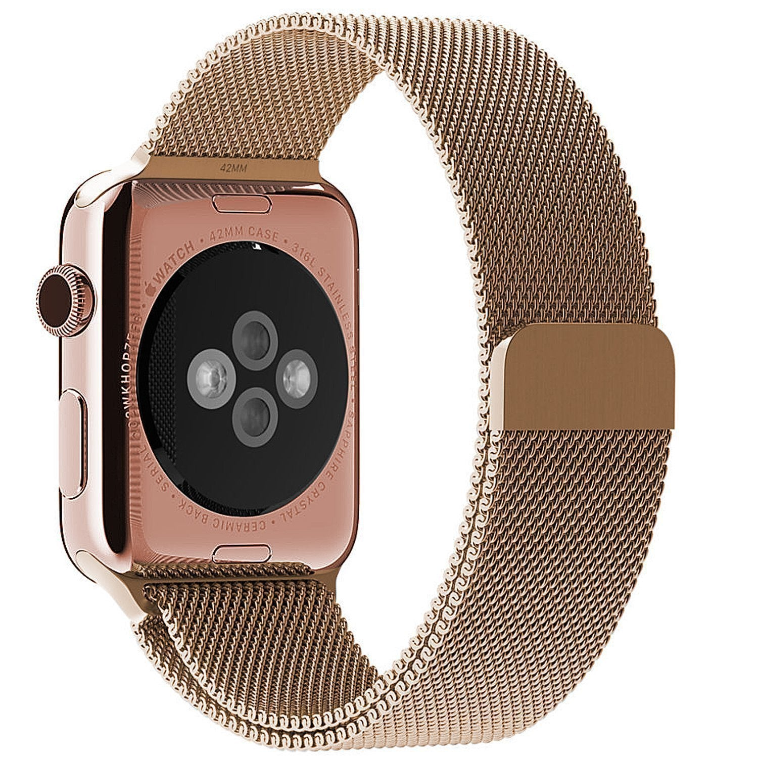Gold Milanese Loop Watch Band