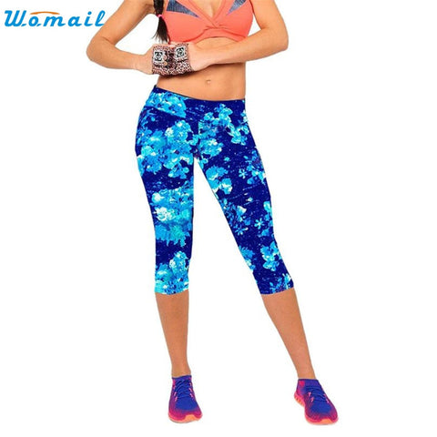 High Waist Bold Print Leggings