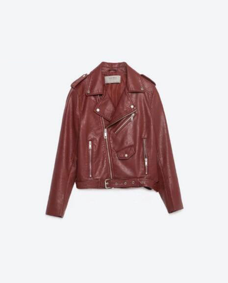 Pleather Moto Spring Jacket