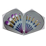 10PC Unicorn Professional Fiber Brushes